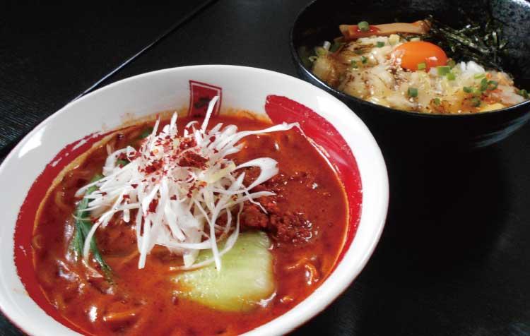 らーめん旭昭和本店の究極の坦々麺