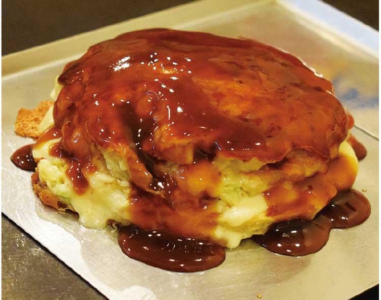 こて屋のふわふわ山芋チーズミルフィーユ玉