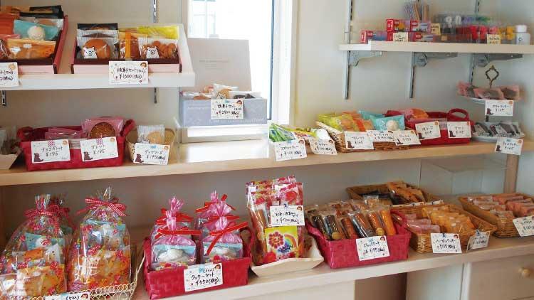 ショートベリーの焼き菓子売り場