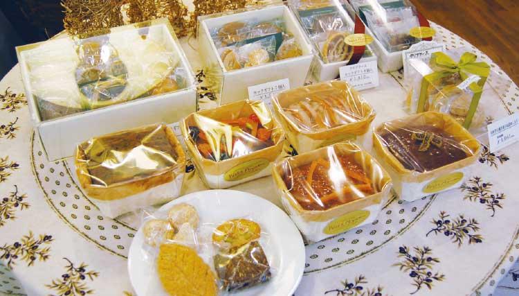 ペシェ・ミニヨンのケーキなどのフランス菓子