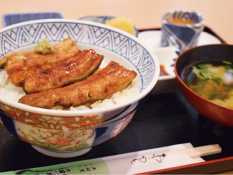 うなぎ・川魚・和食鯉之助の相のりランチうな丼