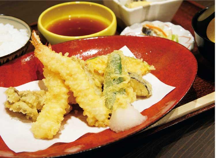 はこだて食道楽・彦一の天ぷら定食