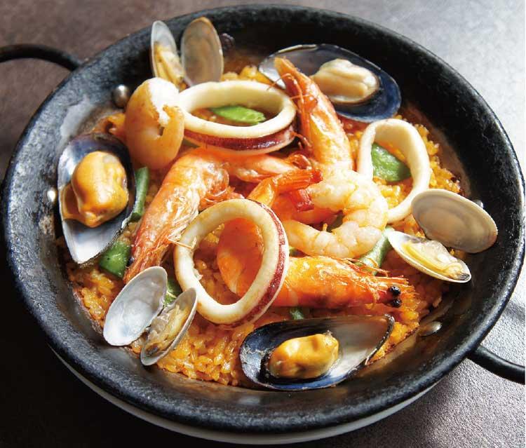 スペイン料理 マルモンターニャのパエリア