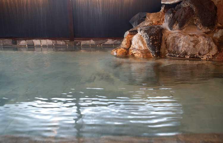 湯の川温泉・笑函館屋の温泉