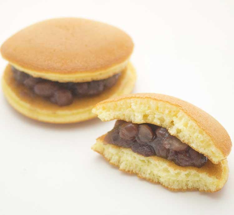 和創菓ひとひらの賞味期限0日のどら焼き(ひとあわせ)