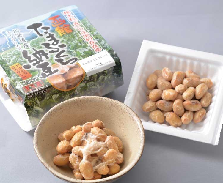 だるま食品本舗のたまふくら納豆