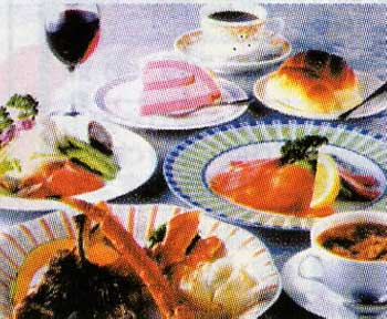 かねもり亭のコース料理