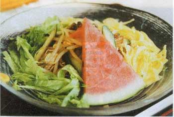 函館麺工房の冷やしラーメン