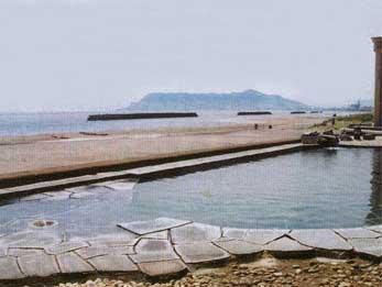 湯の川プリンスホテル渚亭の露天風呂