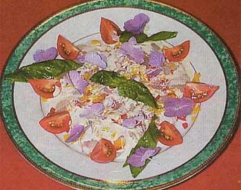 ア・プレストの真鯛のカルパッチョ