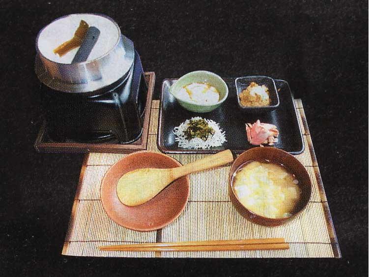 HakodateDining備後屋の炊き上げ備長白飯