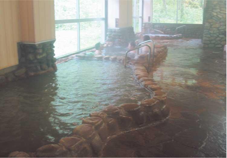 上ノ国町国民温泉保養センターの大浴場