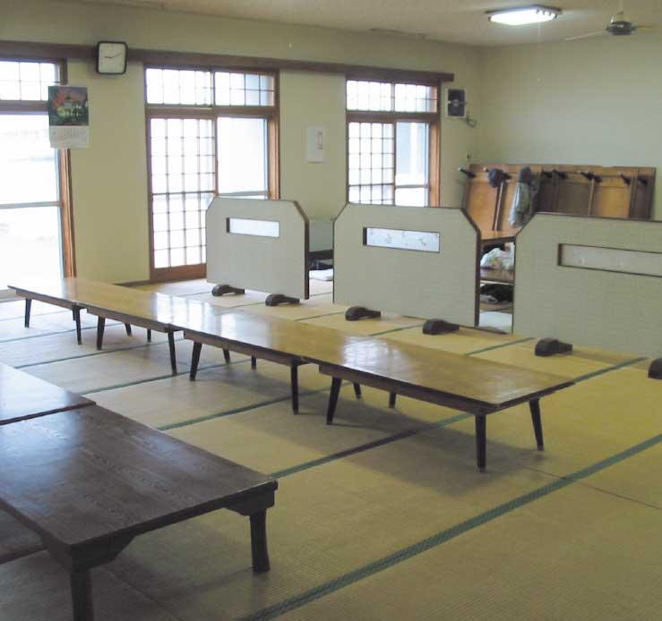 上ノ国町国民温泉保養センターの無料休憩室