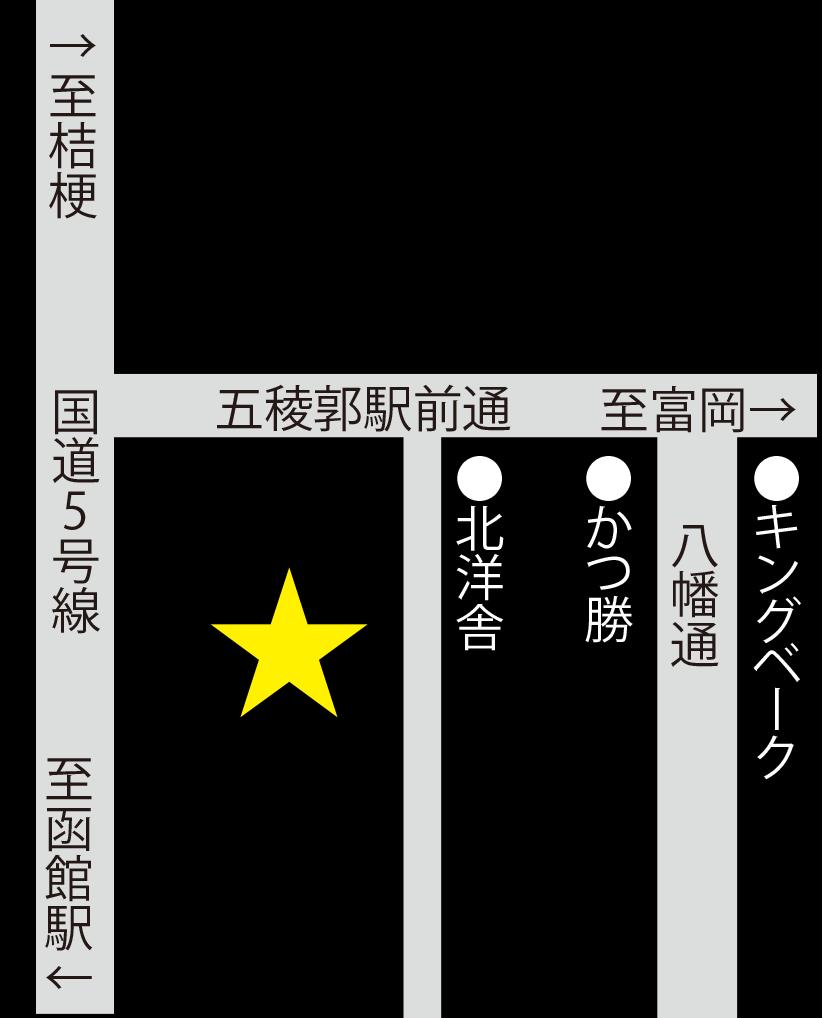 亀田温泉周辺地図