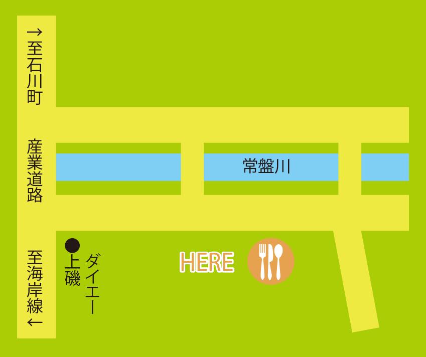 小川亭周辺地図