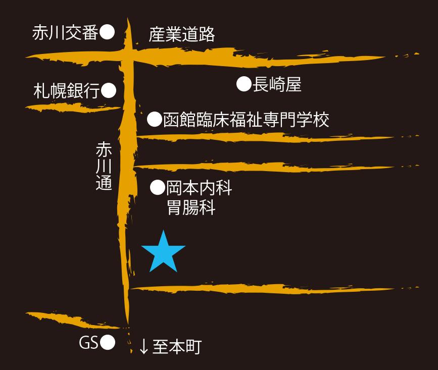 スープカレー専門店ムッシャ周辺地図