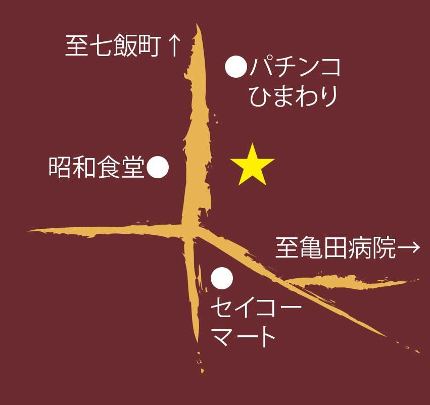 石黒商店の周辺地図