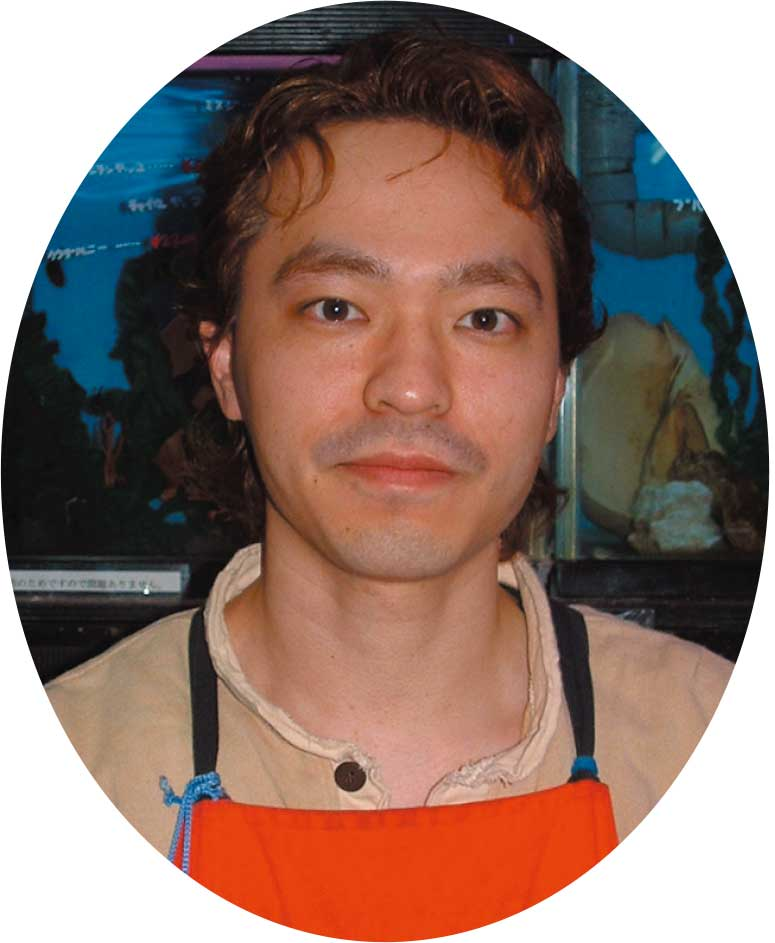 熱帯魚センターの板垣武さん