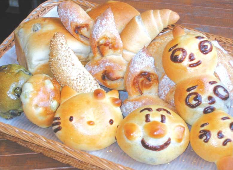 窯蔵のオリジナルパン