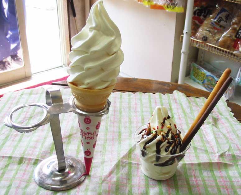 日弘食品株式会社のソフトクリーム
