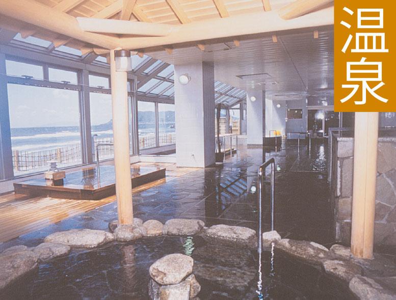 湯の浜ホテルの温泉