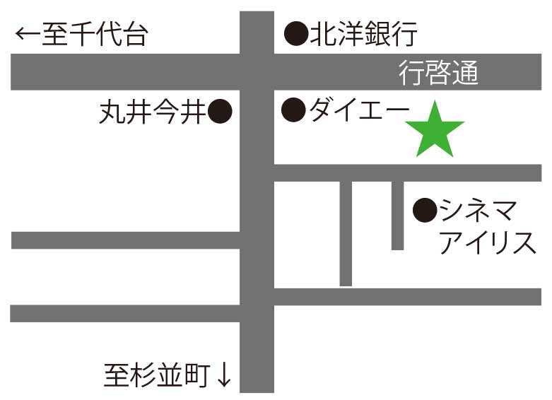 旬彩粋匠周辺地図