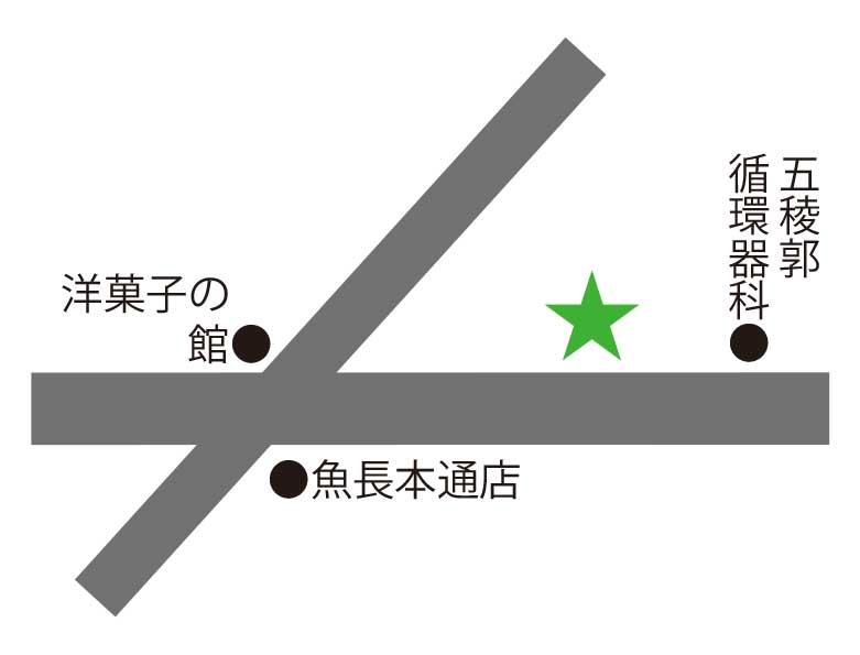 麺S廣河ヌードル&焼肉大昌園周辺地図