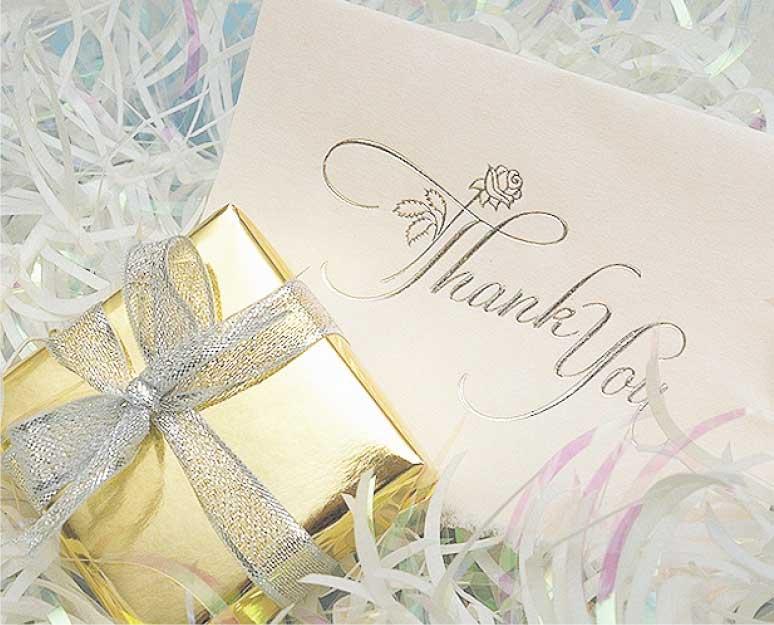 プレゼントと手紙