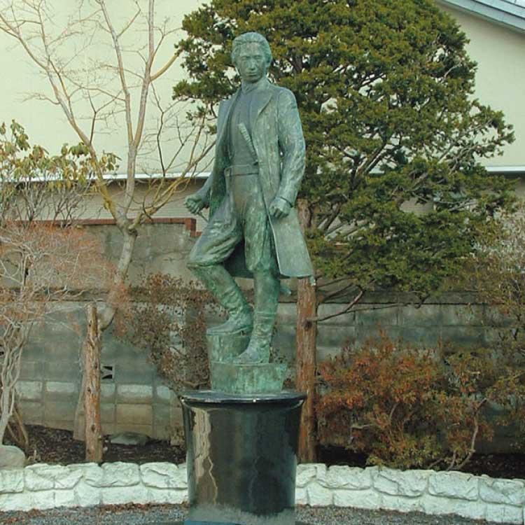 土方歳三の像