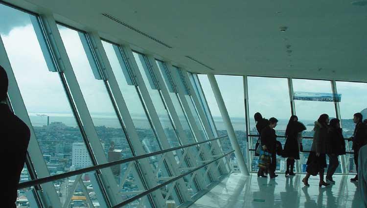 五稜郭タワー展望フロア2階