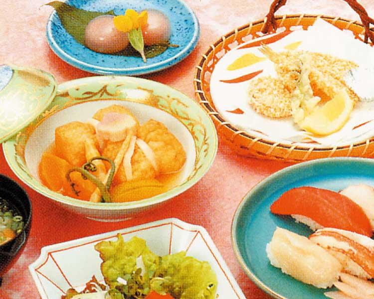 函館国際ホテル日本料理松前のレディース膳