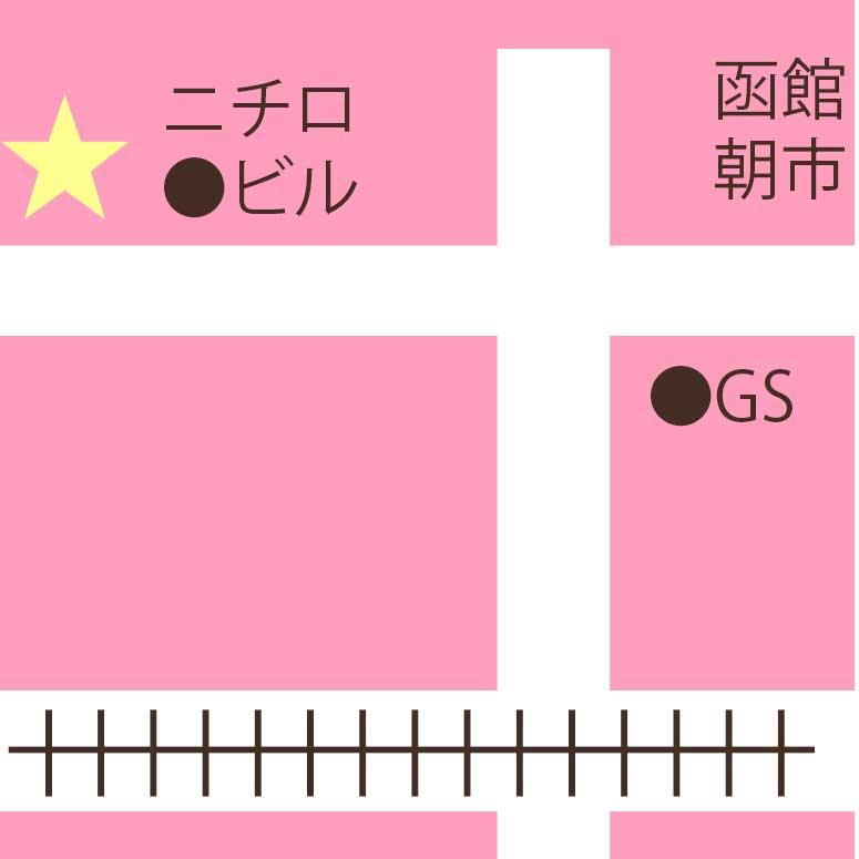 函館国際ホテル日本料理松前周辺地図