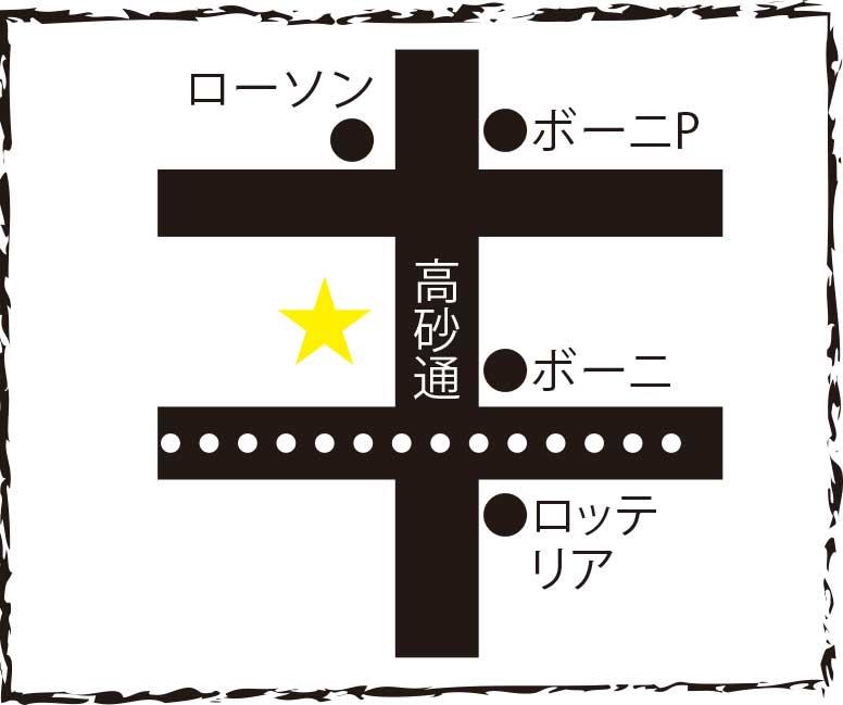 函館鉄平周辺地図