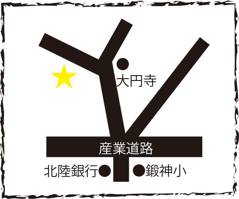 鴻運閣周辺地図