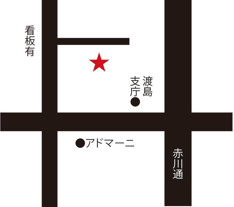 菜屋周辺地図