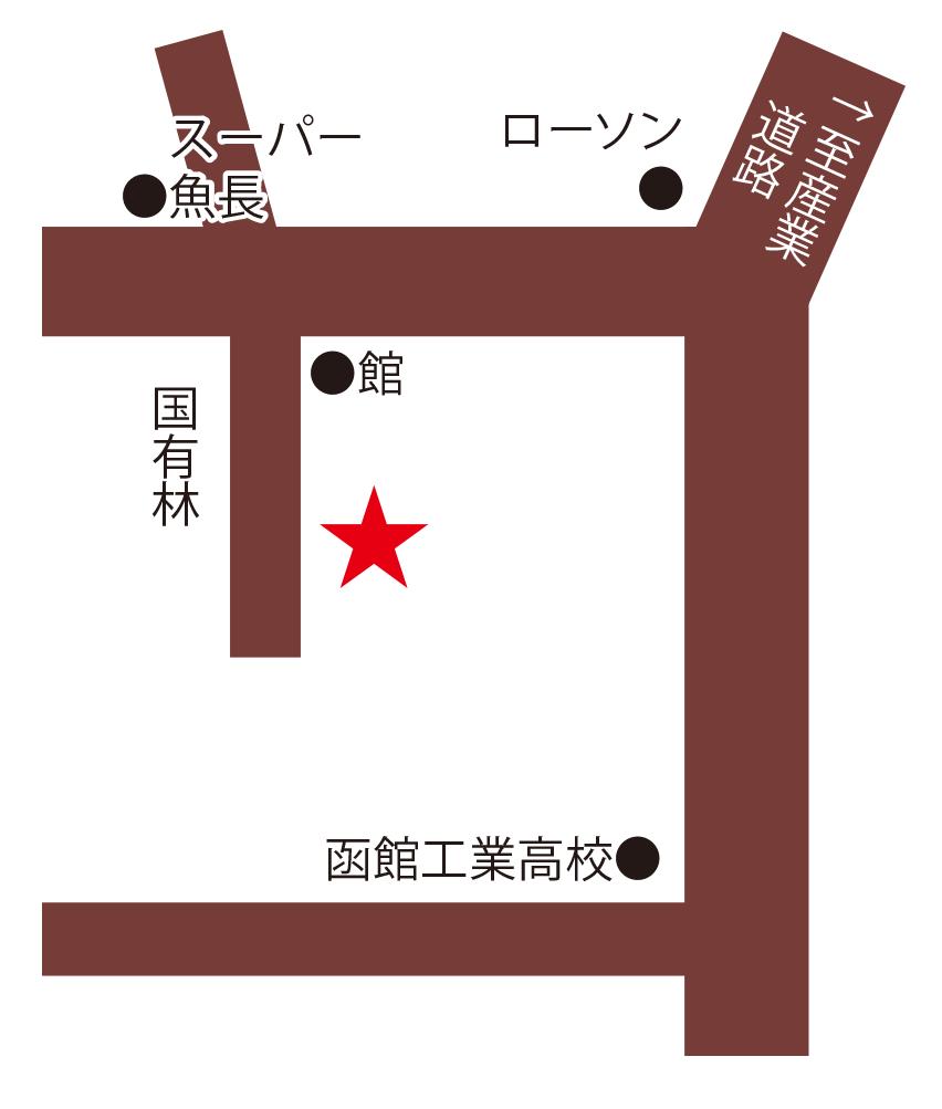 ラ・ステラ周辺地図