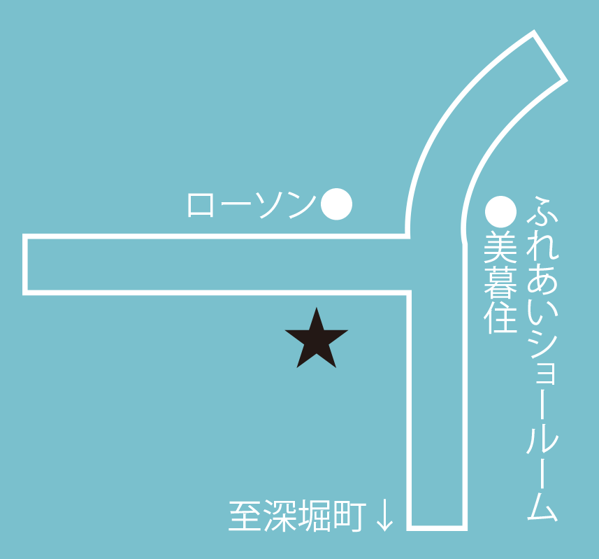 ミスタードーナツ函館本通店周辺地図