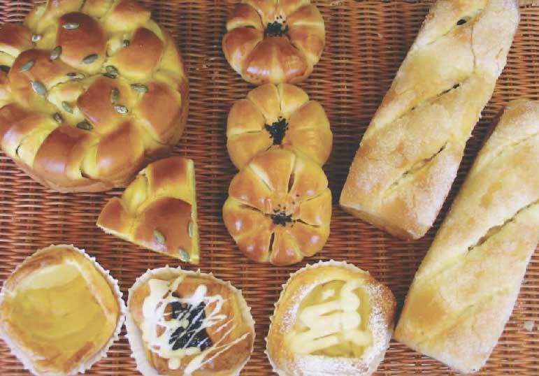 ホームベーカリードッポの菓子パン