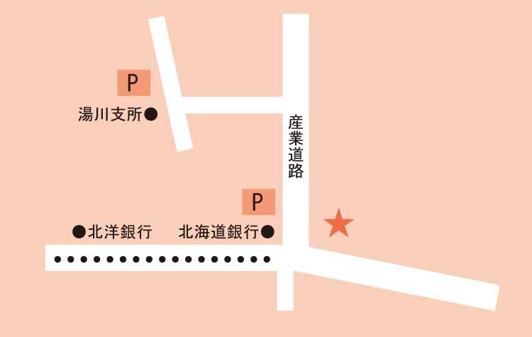 湯倉神社周辺地図