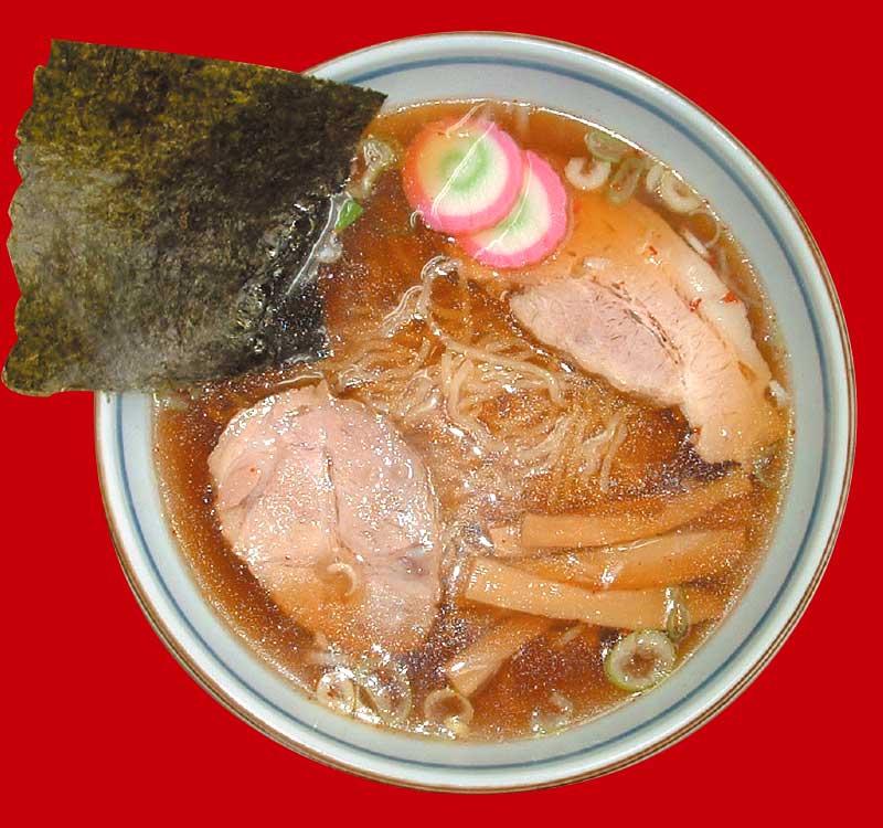 ラーメン専科麺次郎石川店の和風醤油ラーメン