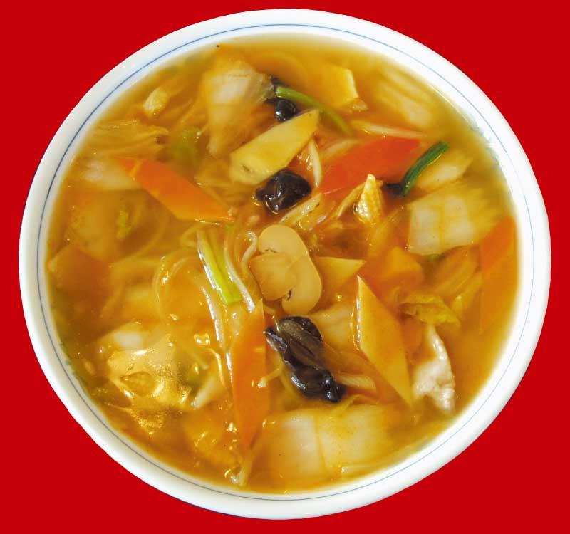 廣河ヌードルたくまのキムチ風味五目麺