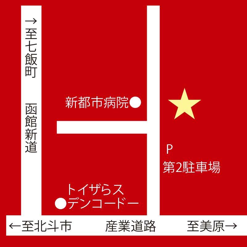 中国料理張家口周辺地図