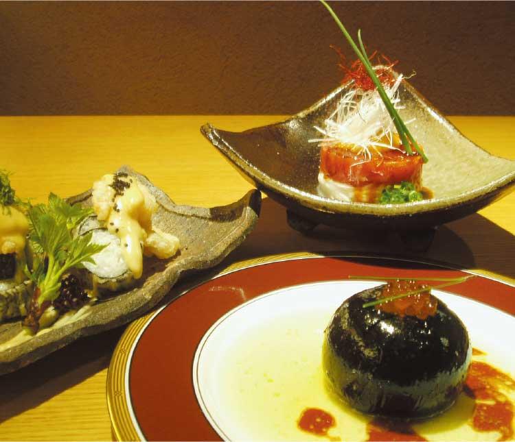 新和食町家の料理