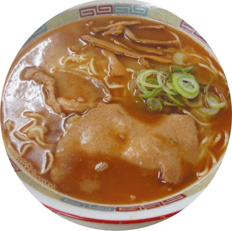 旭川ラーメン醤油味