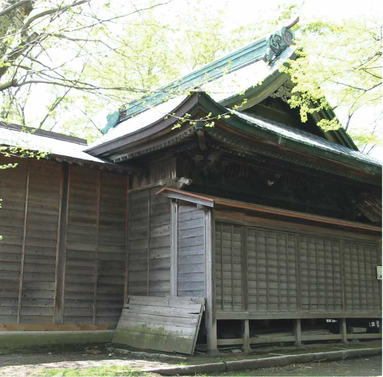 亀田八幡宮旧本殿