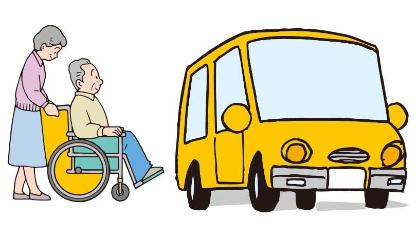 函館タクシーのリフトタクシーサービスイメージ