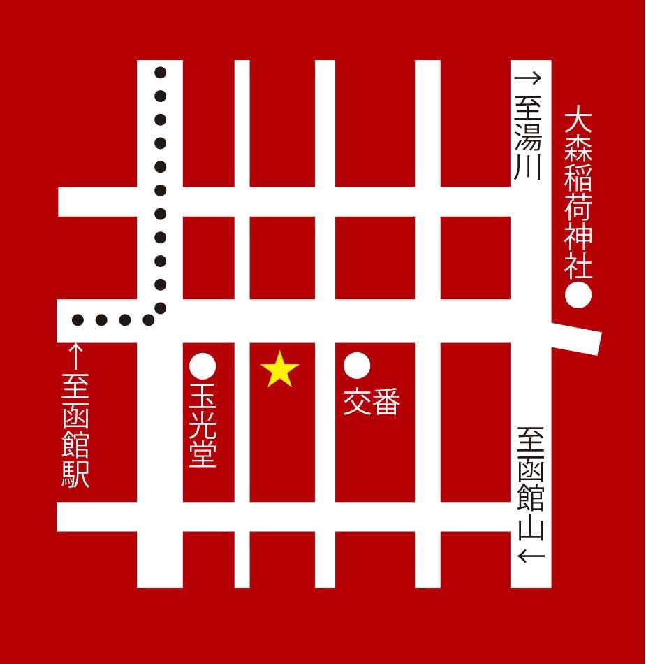 大門あま太郎周辺地図