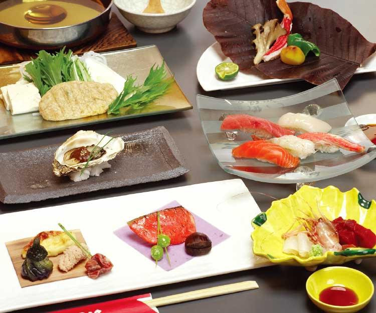 魚まさ五稜郭店の宴会料理