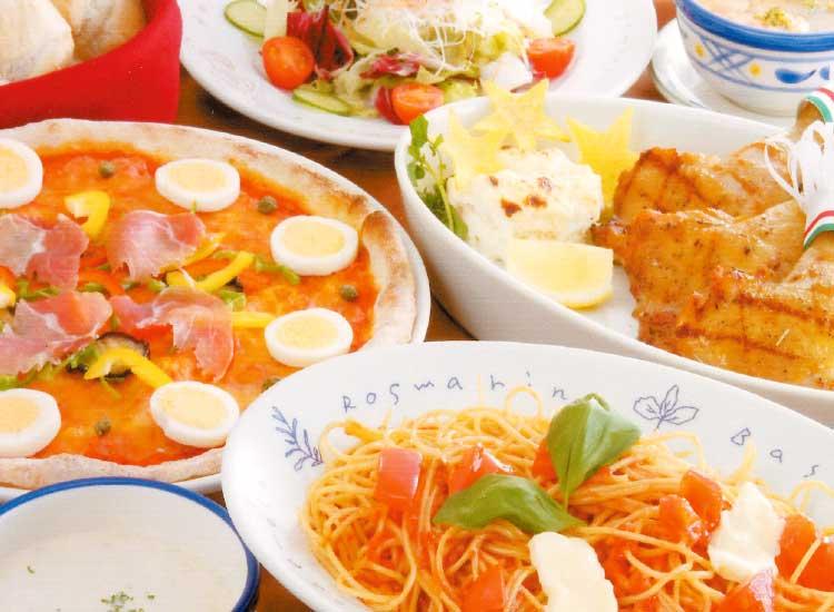 ピッツェリア アモリーノの料理