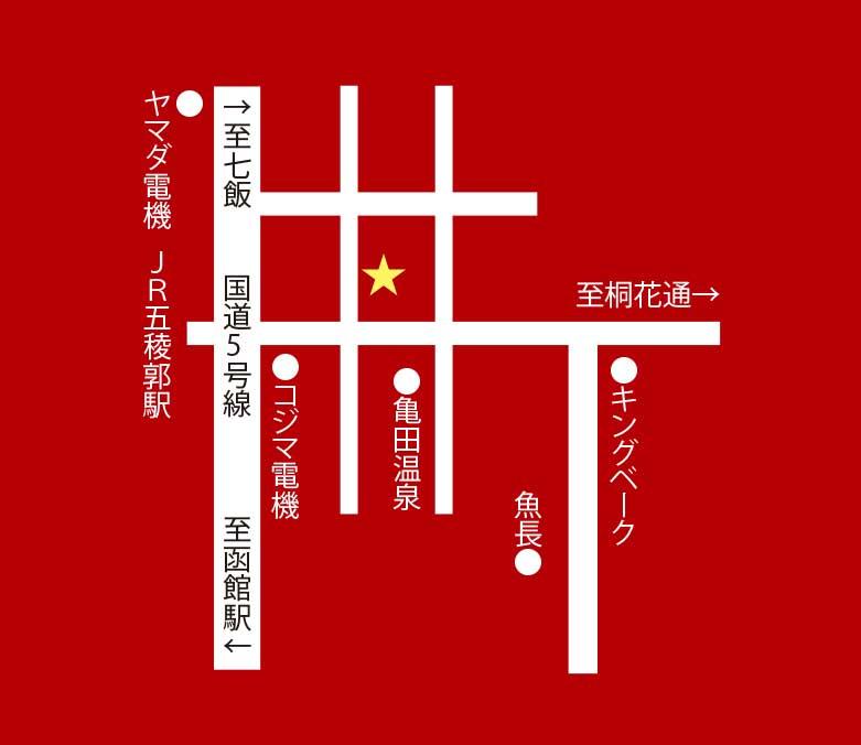 麺屋翔周辺地図